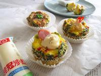早餐雞蛋杯【滿分早點X桂冠沙拉】