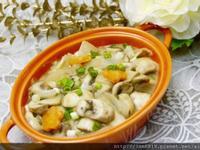 白醬炒蘑菇