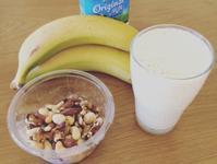 🍌香蕉堅果牛奶