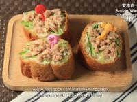 鮪魚小黃瓜三明治