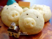 小豬芝麻包【大同全功能蒸烤箱】