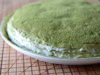 零烘培∣抹茶千層蛋糕