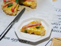 [大同電鍋] 龍蝦沙拉米飯披薩