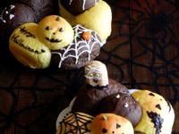 (萬聖節) 南瓜巧克力疊疊餐包