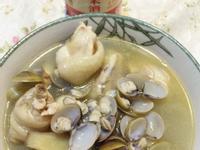 麻油雞蜆湯