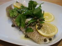 檸檬酸豆鱈魚