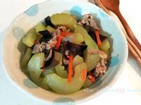 大黃瓜炒肉絲