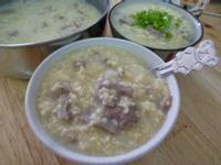 牛肉小米粥(電鍋版)