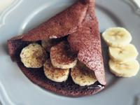 香蕉巧克力煎餅