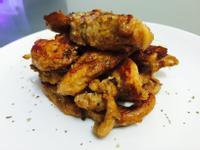 豆腐般口感-香煎雞柳塔