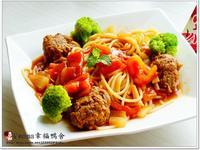 番茄牛肉丸義大利麵