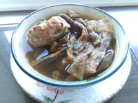 客家豆子干排骨湯