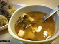 豆腐小魚仔味噌湯