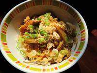 日式豬肉丼飯 【家樂福廚神大賽2015】