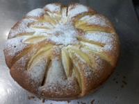 蘋果鑲蛋糕