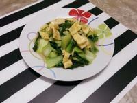 腐竹炒青江菜