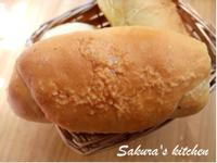 ♥我的手作料理♥海鹽奶油捲麵包