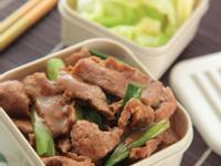 大蒜炒牛肉