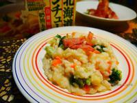 培根鮮蔬奶油燉飯【好侍北海道白醬料理】