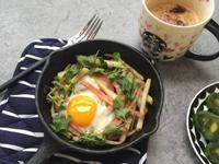 馬鈴薯火腿蛋——快手早餐