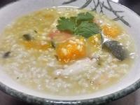 南瓜糙米海鮮粥