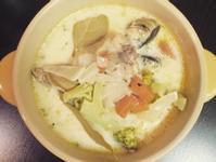 低卡無油奶油雞肉蛤蜊湯