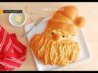 聖誕老公公麵包*五分鐘手揉麵團