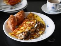 Olivia♥奶油蘑菇歐姆蛋簡單三步驟!