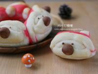 聖誕老人立體造型麵包