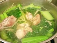 五德雞蛤仔刈菜湯