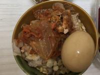 外宿電鍋料理-泡菜清蒸肉片