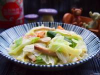 杏鮑菇炒高麗菜「味之素品牌」高鮮味精