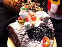 聖誕節樹幹蛋糕