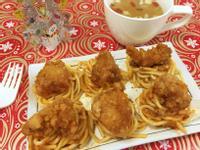 韓式炸雞義大利麵_小七派對美食
