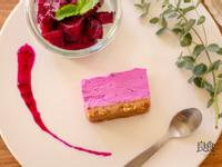 紅龍果起司蛋糕|粉紅甜點