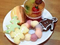 生日點心-彩虹馬德蓮&花圈蛋糕