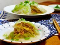 起司肉末千層高麗菜封【電鍋版】