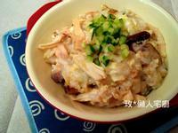 【電鍋X懶人】雞肉香菇蛋花粥