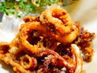 鹹酥魷魚圈