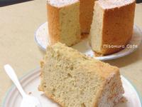 白芝蔴戚風蛋糕