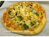 自製手工比薩 雞肉菇菇PIZZA