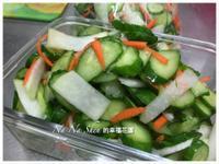 菜扣拌小黃瓜