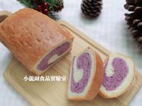 寶寶食譜【雙色紫薯小土司】