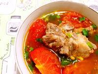 蕃茄排骨湯 (電鍋版)