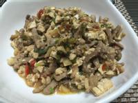 麻婆豆腐(不用辣豆瓣醬版)