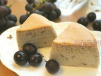 新鮮葡萄棉花蛋糕