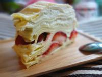 草莓千層蛋糕 @ 阿寶寶食堂