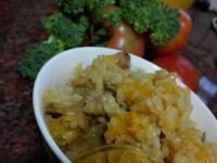 南瓜雞肉燉飯