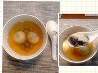 薑汁芝麻湯圓