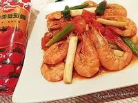 茄汁炒鮮蝦_蕃茄醬懶人料理